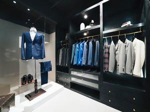 60平米现代风格精致男士服装店装修效果图