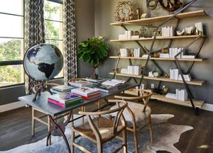 后现代风格简约创意书房设计装修效果图欣赏
