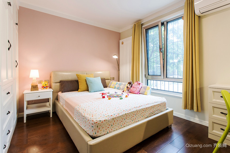 20平米简欧风格甜美儿童房装修效果图欣赏