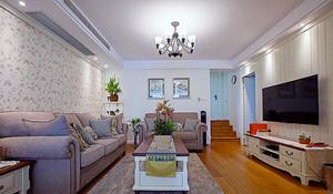80平米简欧风格精美室内装修效果图案例