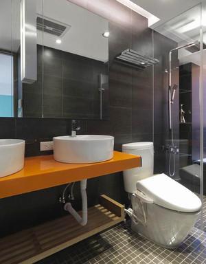 69平米现代简约风格一居室室内装修效果图赏析