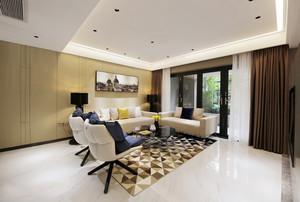 现代简约风格两居室客厅装修效果图欣赏