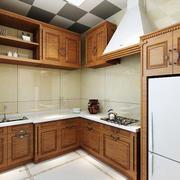 美式风格精致厨房设计装修效果图赏析