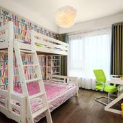 清新风格时尚可爱儿童房装修效果图赏析