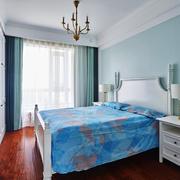 清新风格时尚卧室装修实景图赏析