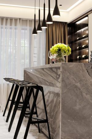 现代风格精致室内时尚吧台设计装修效果图赏析