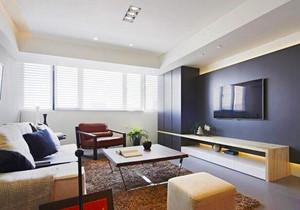 74平米宜家风格简约两室两厅一卫设计装修效果图