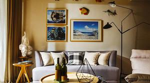 宜家风格温馨简约一居室室内装修效果图案例
