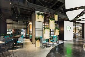 90平米现代风格时尚餐厅装修效果图赏析