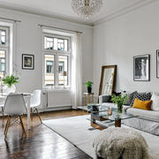 北欧风格简约清新客厅设计装修效果图鉴赏