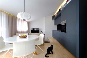 51平米现代风格精装单身公寓装修效果图赏析