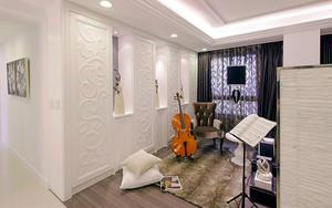 120平米简欧风格精装室内装修效果图案例