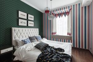 美式风格时尚创意卧室飘窗装修效果图