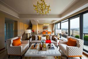 180平米欧式风格精美复式楼室内装修效果图案例