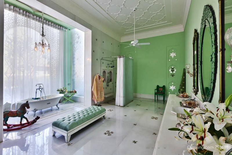 欧式风格清新豪华卫生间装修效果图赏析