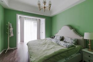 简欧风格清新绿色卧室装修效果图赏析