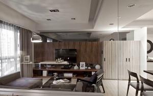 88平米现代风格精致两室两厅室内装修效果图鉴赏