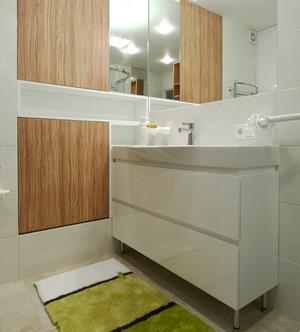 63平米现代简约风格简洁温馨一居室装修效果图