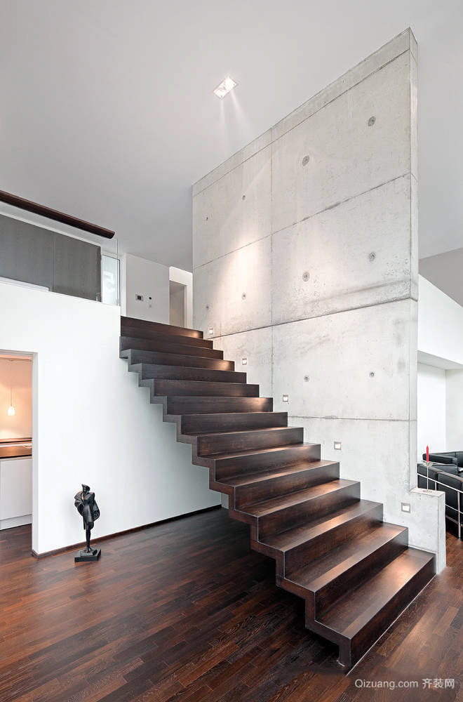 现代简约风格时尚楼梯设计装修效果图鉴赏
