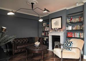 120平米新古典主义风格精装室内装修实景图赏析