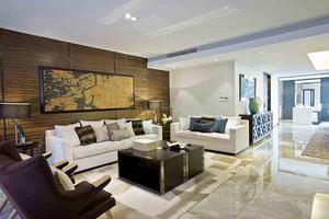 159平米新中式风格大户型精装室内装修效果图