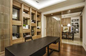100平米新中式风格精致雅韵室内装修效果图赏析
