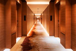 现代风格精致酒店过道装修效果图赏析