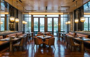 美式风格古典气质西餐厅装修效果图欣赏