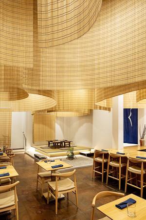 日式风格简约餐厅装修效果图