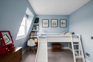 16平米清新风格儿童房设计装修效果图赏析