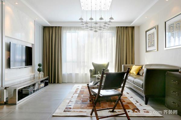 100平米混搭风格精美室内装修效果图案例