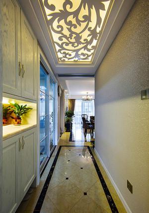 简欧风格精美温馨三室两厅室内装修效果图赏析