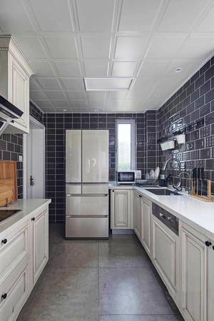简欧风格精致整体厨房装修效果图鉴赏