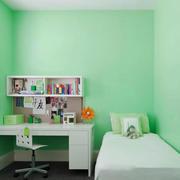清新风格薄荷绿儿童房设计装修效果图赏析