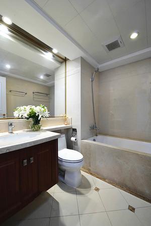 102平米美式风格清新时尚两室两厅室内装修效果图