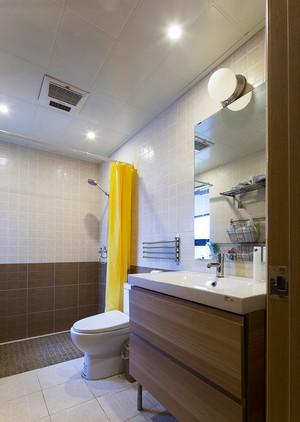 88平米日式风格简约三室一厅室内设计装修效果图