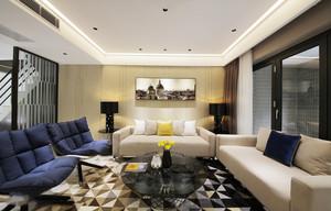 现代风格低调精致客厅装修效果图鉴赏