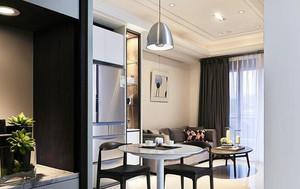 94平米简欧风格精装两室两厅室内装修实景图欣赏