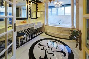 230平米新古典主义风格别墅室内装修效果图赏析