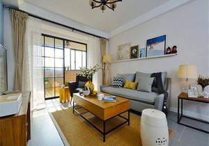 78平米宜家风格精美两室两厅装修效果图案例