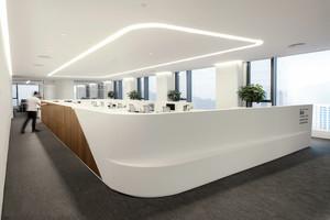 现代简约风格精装办公室装修效果图