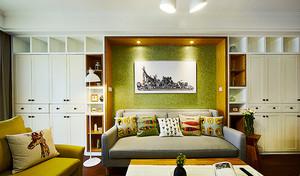 84平米北欧风格精装两室两厅室内装修效果图赏析