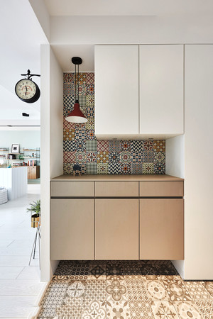北欧风格简约实用玄关鞋柜设计装修效果图赏析