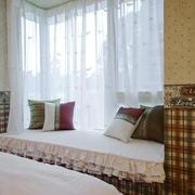 东南亚风格精美飘窗设计装修效果图赏析