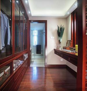 东南亚风格大户型独立式衣帽间设计装修效果图赏析