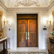 古典欧式风格别墅进门玄关设计装修效果图赏析