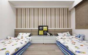 119平米后现代风格精美三室两厅室内装修效果图