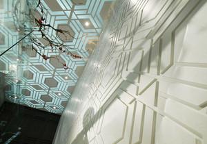 混搭风格精美大户型室内装修效果图案例