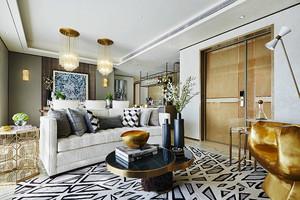 92平米简欧风格精致两室两厅室内装修效果图
