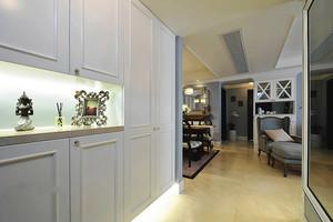 137平米美式风格精美三室两厅两卫装修效果图赏析